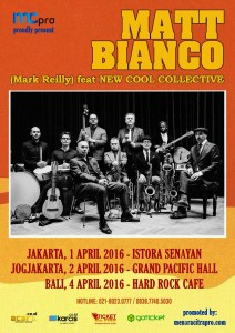 New Cool Collective & Matt Bianco Indonesia